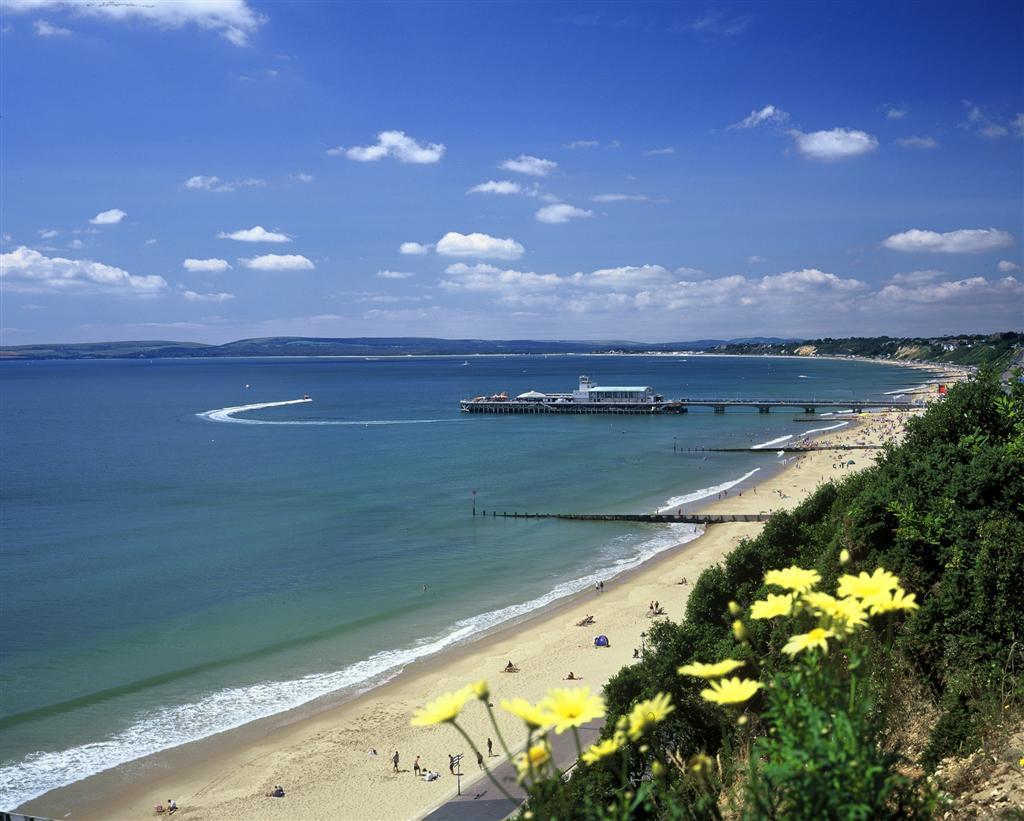 Bournemouth England Englisch Schüler Reisende